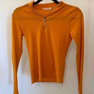 Fashion Nova yellow long sleeve